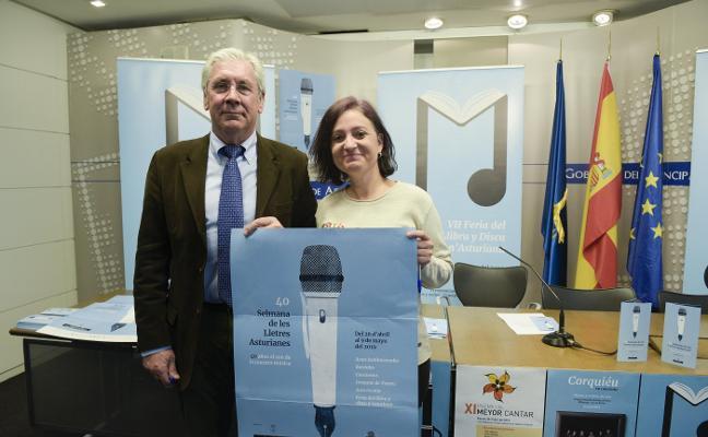 Presentación de la Selmana de les Lletres Asturianes