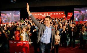 Pedro Sánchez, en Gijón: «Somos el único partido que defiende el Estado de las autonomías»