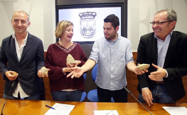 Hallan restos de un asentamiento neandertal en Oviedo