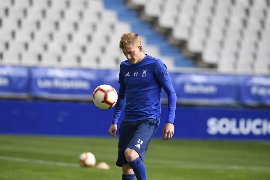 Entrenamiento del Real Oviedo (26-4-19)