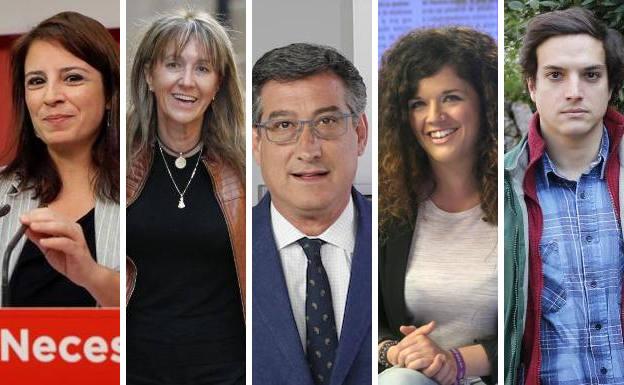 El área central, objetivo de los candidatos asturianos al Congreso