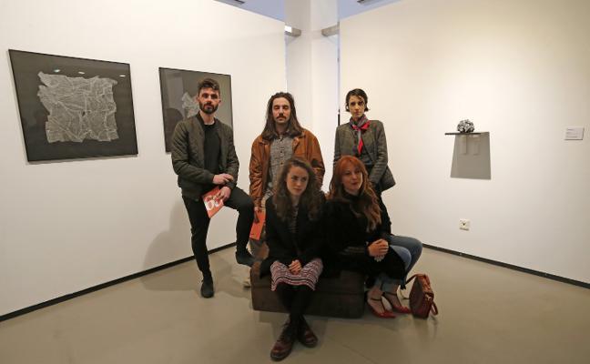Siete jóvenes creadores asturianos toman Borrón
