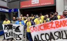 Protesta ante la FSA: 'Sánchez, Barbón, Alcoa solución'