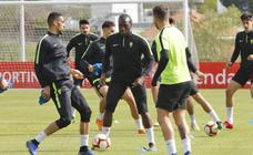 Entrenamiento del Sporting del 26 de abril de 2019