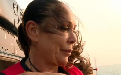 Isabel Pantoja salta desde el helicóptero de 'Supervivientes': «Tengo miedo»