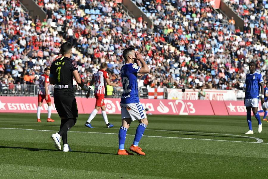 Las imágenes del Almería 0-1 Real Oviedo
