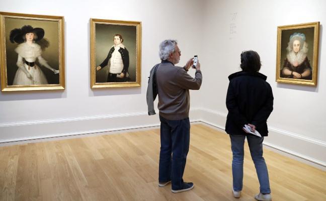Tres cuadros de Goya que vuelven del exilio