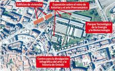 «No tiene sentido hacer la obra y mantener el tráfico junto a la iglesia de Santullano»