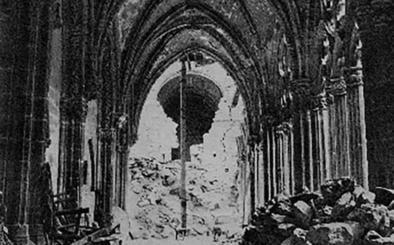Cuando la Catedral de Oviedo resurgió de sus cenizas