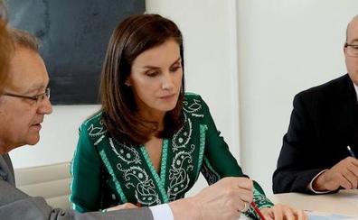 La Reina parte para Mozambique