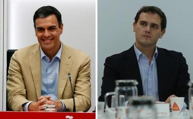 La mala relación política y personal de Sánchez y Rivera dificulta el acuerdo