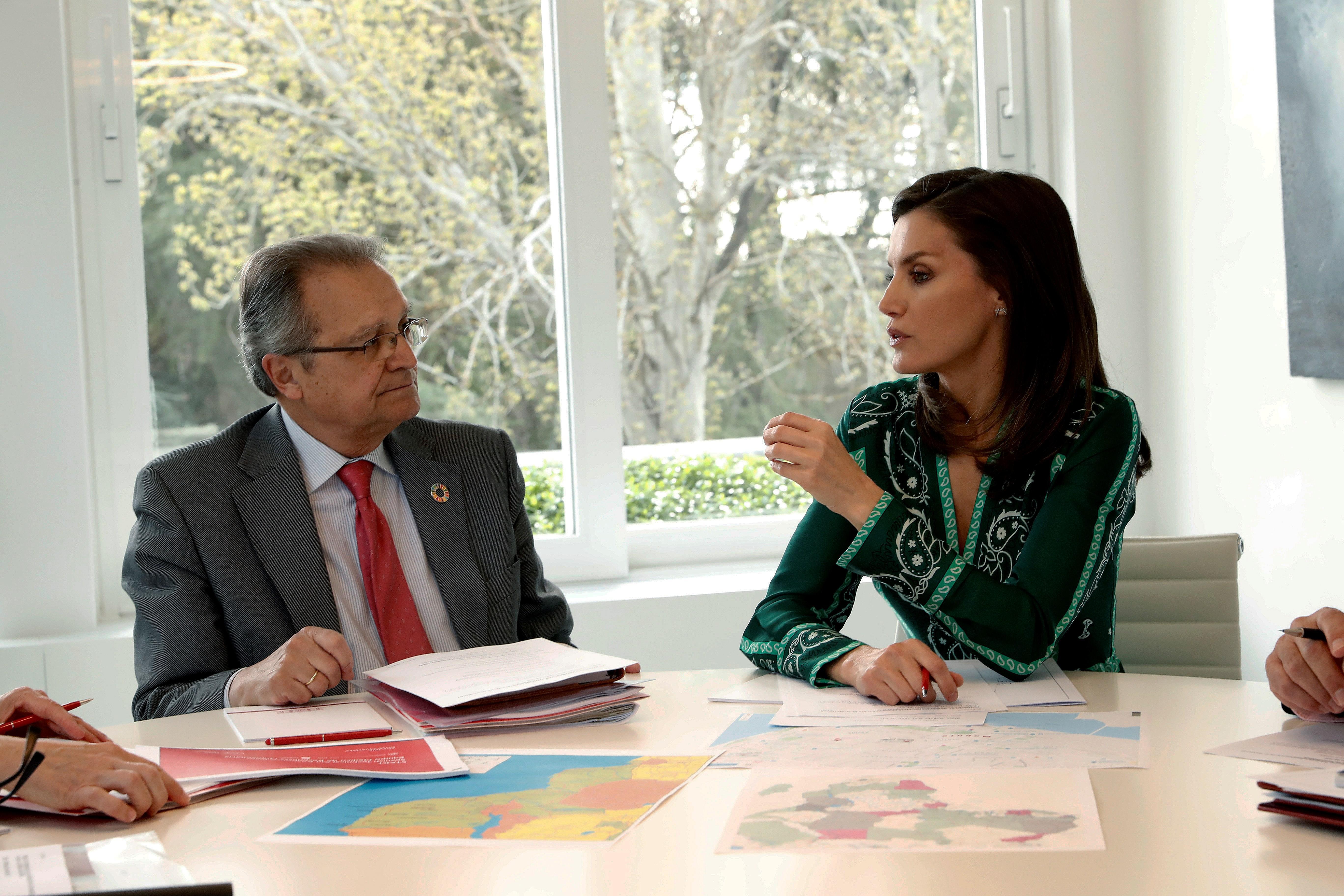 La visita de la reina Letizia a Mozambique, en imágenes