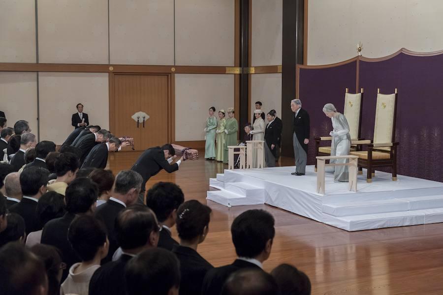 La abdicación del emperador de Japón Akihito en imágenes