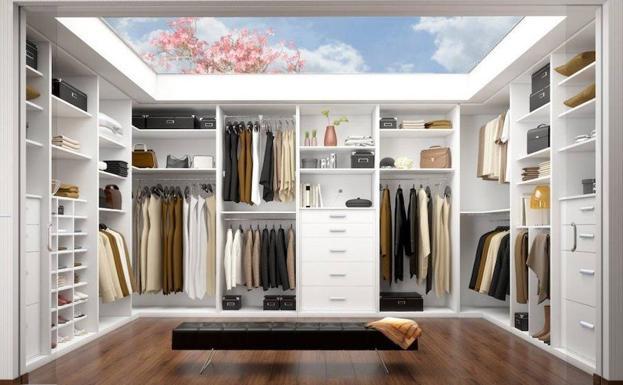 Qu espacio necesito para hacer un vestidor el comercio - Disenar armarios a medida ...
