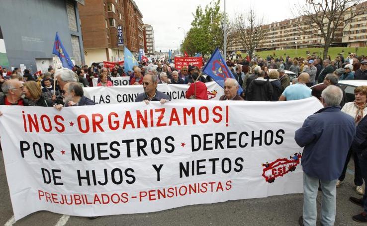 Primero de Mayo en Gijón