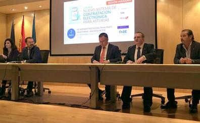 Una empresa portuguesa gestionará la plataforma de contratación pública en Asturias