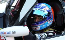 Fernando Alonso arranca tercero en Spa, por delante del segundo Toyota