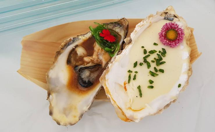 Las ostras reinan en Castropol