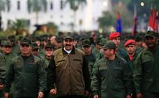 Maduro agita el miedo a un ataque de EE UU