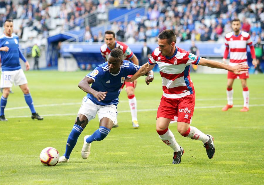 Real Oviedo 1-1 Granada, en imágenes