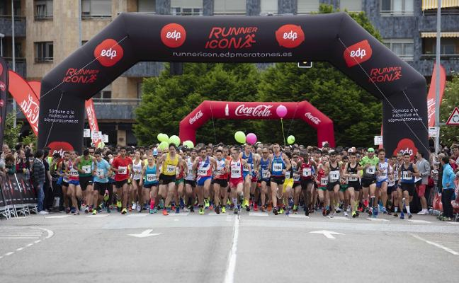 Dominio africano en el Medio Maratón