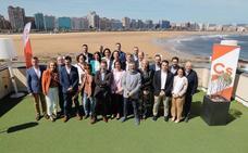 Ciudadanos subraya que cambiará el «rumbo» y devolverá la «ilusión» a Gijón