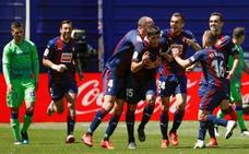 El Eibar acaba con las opciones europeas del Betis