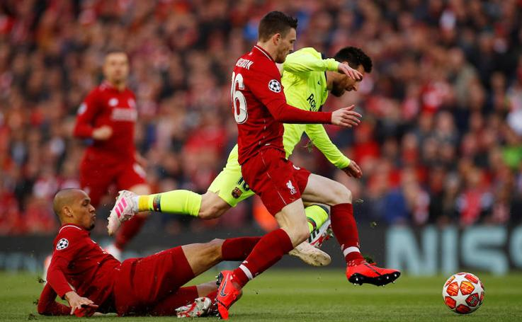Las mejores imágenes del Liverpool-Barcelona