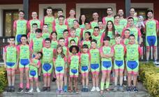 La gran familia del Team Bike Cabranes