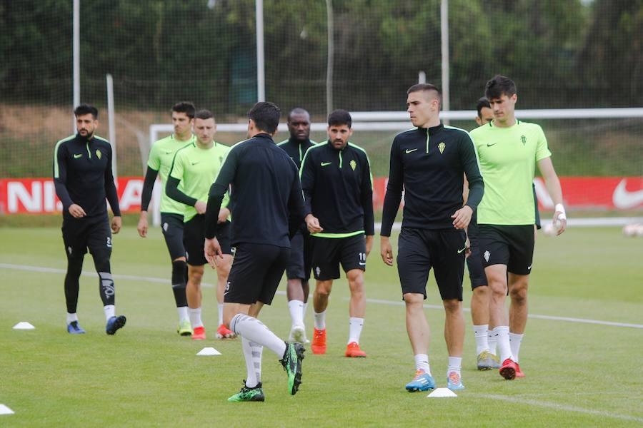Entrenamiento del Sporting (08-05)