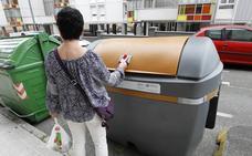 Los gijoneses reciclan ya el 30% de sus residuos
