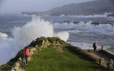 Asturias, entre las temperaturas más bajas y los vientos más fuertes de España