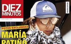 María Patiño, protagonista de la portada de Diez Minutos
