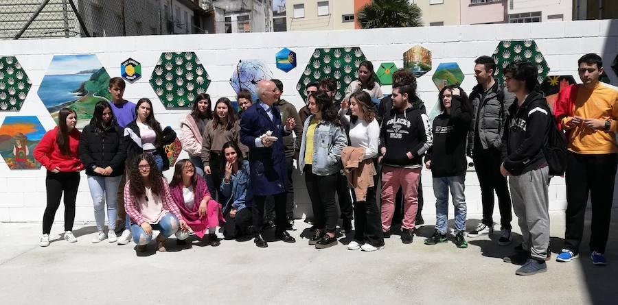 Juan Méjica, en el Foro Comunicación y Escuela de Vegadeo