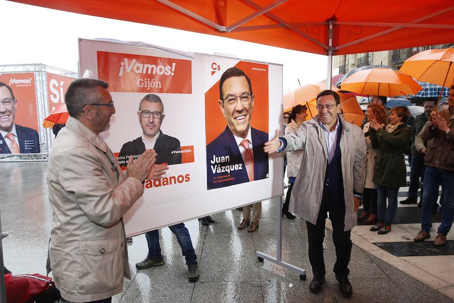 Inicio de campaña electoral de Ciudadanos