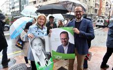 Ignacio Blanco abre la campaña con la «fe» de llevarse el «voto útil de Asturias»