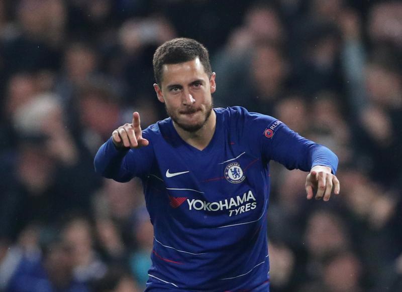 Hazard rubrica el triunfo del Chelsea en los penaltis