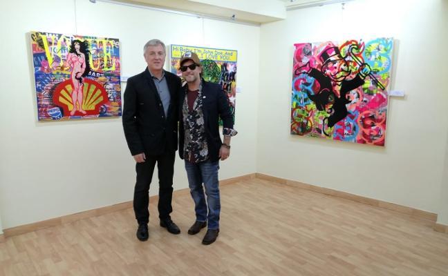 El artista candasín Joaquín Viña expone en Lérida su última muestra