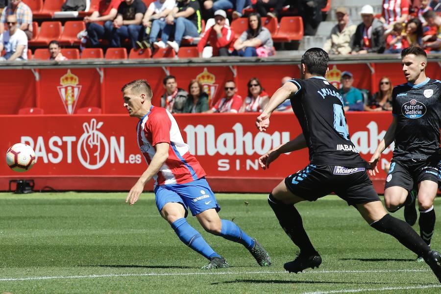 Las jugadas del Sporting 0-0 Lugo