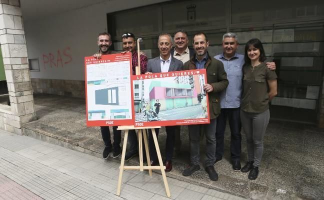 García quiere recuperar el edificio del Cinema Siero para la escuela infantil de 0 a 3 años