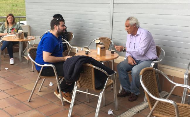 Juanjo García sienta las bases con Amalio Álvarez para continuar en el Adba