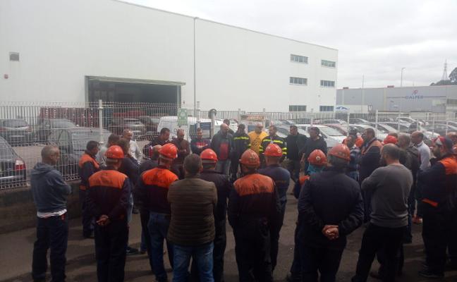 La plantilla de Alcoa se solidariza con los trabajadores de Tuinsa