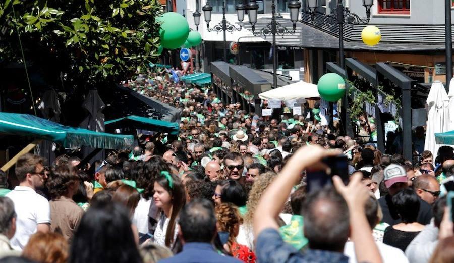 Oviedo celebra su XX Preba de la sidra en Gascona