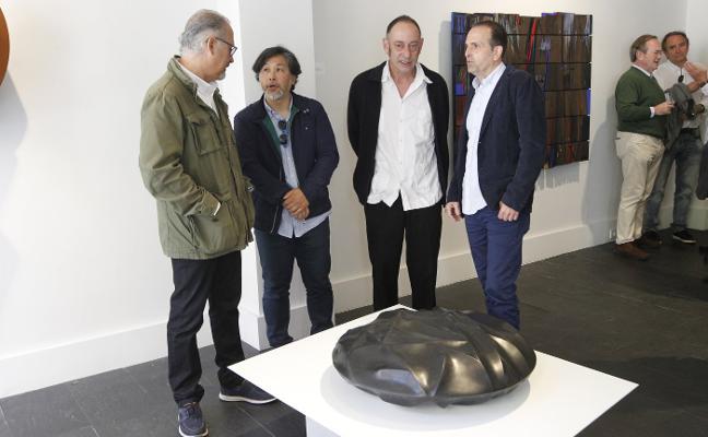 Cornión apuesta por la escultura