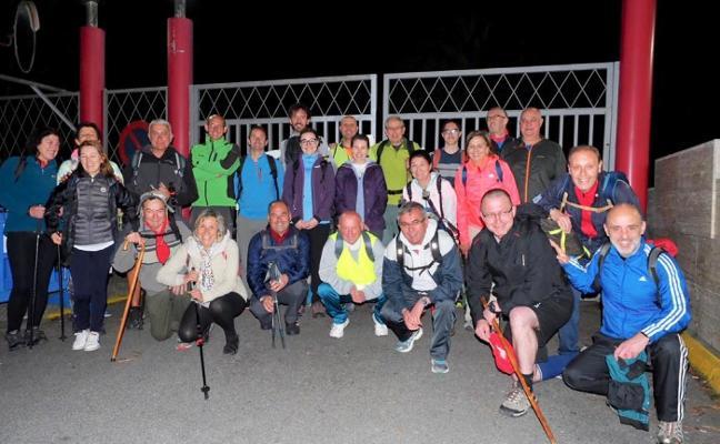 El Grupo Covadonga va a ver a la Santina