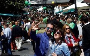 Gascona se llena en su XX Preba de la sidra