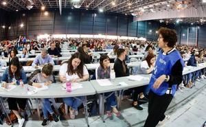 3.291 personas se presentan a una prueba «asequible» para cubrir 499 plazas fijas del Sespa