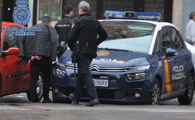 Dos detenidos en Gijón por dar cobijo e información a asaltantes de viviendas