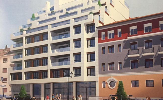 Proyectan treinta y dos viviendas de lujo en un solar junto a El Vasco