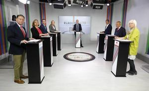 En directo: debate de los candidatos a la Alcaldía de Oviedo